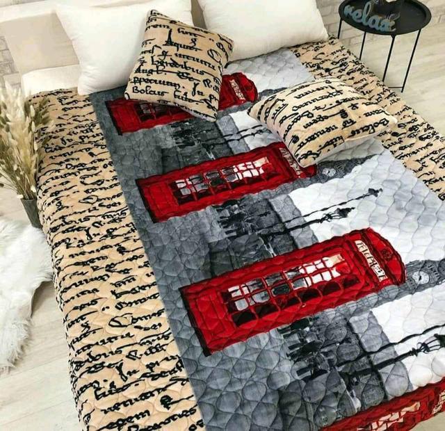 Покрывала с подушками