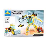 Конструктор KAZI трансформер (робот, стройтехника), фигурка, 127дет, 8027