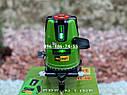 Лазерний рівень Procraft LE-5D зелений промінь нівелір, фото 3