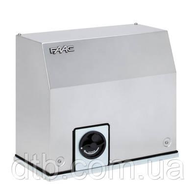 Автоматика FAAC С850 комплект для відкатних воріт промисловий привід для важких воріт вагою до 1800 кг