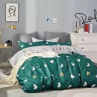 Комплект постельного белья евро размер 200*220 см Бязь Премиум