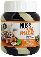 Шоколадная паста какао-молочная со вкусом ореха Nuss Milk Krem 400г.