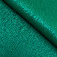 Натуральна шкіра галантерейна ФЛЕШ, Зелений, Pantone 18-6030, фото 1