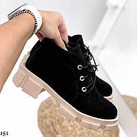 Кожаные натуральные ботинки, фото 1