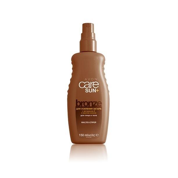 Увлажняющее масло-спрей для усиления загара Avon Care Sun+ Maxi Tan Bronze 150 мл 32598