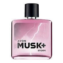 Туалетная вода Avon Musk Storm +,  75 мл 1394435