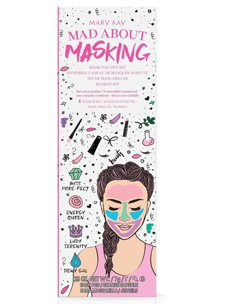 Мини набор масок Mary Kay Mad About Masking 4 шт х 7 г
