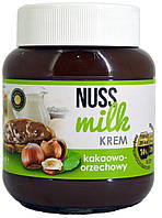 Шоколадная паста какао-ореховая Nuss Milk Krem 400г.