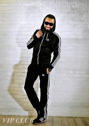 Мужской спортивный костюм adidas с капюшоном, фото 2