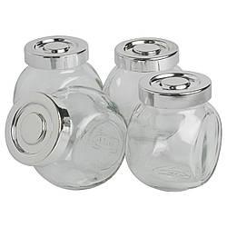Емкость для специй икеа IKEA RAJTAN, стекло, серебристый 400.647.02
