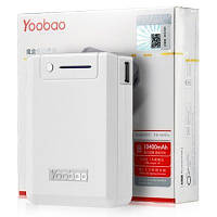 Yoobao Power Bank 10400 mAh Magic Box YB-645 Pro, white (PBYB645PRO-WT)