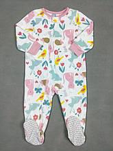 Человечек флисовый для девочки Картерс, 2Т (88-93см)