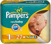 Подгузники Pampers Active baby р.1 1-5кг 27шт