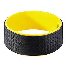 Колесо для йоги и фитнеса 4FIZJO Dharma XXL Yellow, фото 2