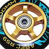Трюкової самокат SportVida Stunt Poker SV-WO0017 Black/Blue, фото 5