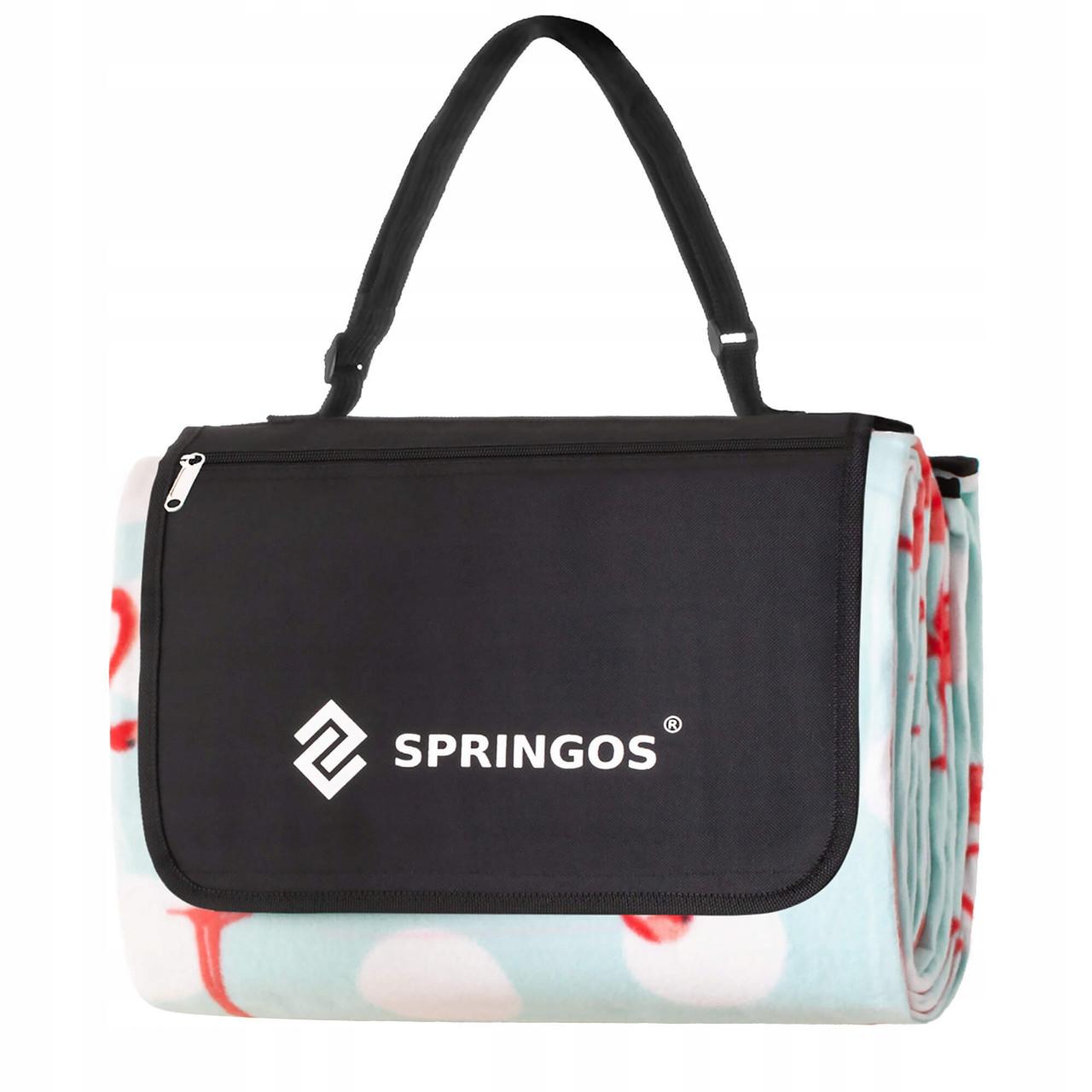 Килимок для пікніків і кемпінгу складаний Springos 240 x 200 см PM011