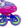 Роликові ковзани Nils Extreme NJ4605A Size 38-41 Pink, фото 6
