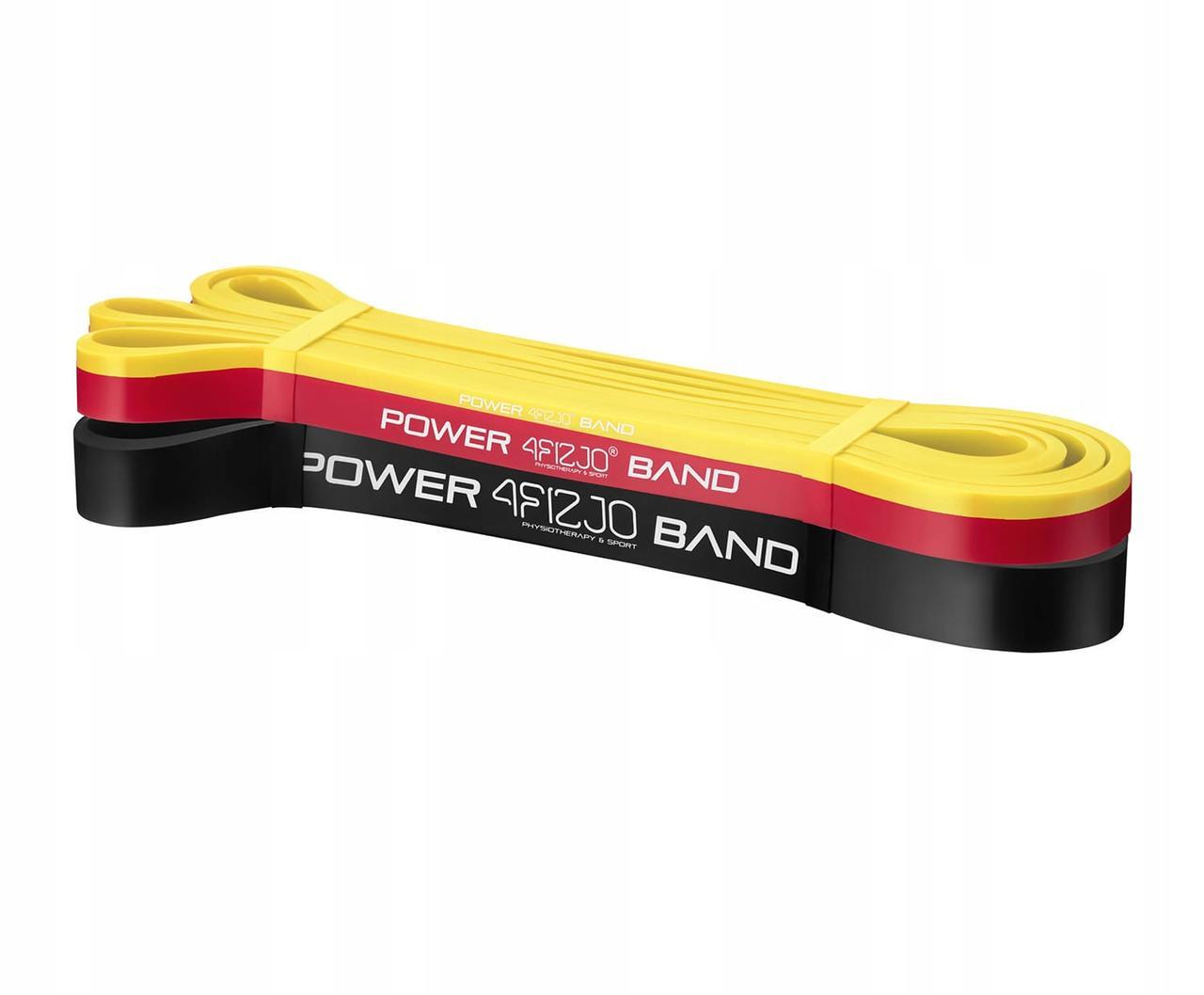 Еспандер-петля (гумка для фітнесу і спорту) 4FIZJO Power Band 3 шт 2-17 кг 4FJ0062