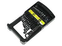 Набор ключей рожково-трещоточных 11шт с карданом 8-19 мм. ALLOID НК-2081-11K (наб.)