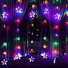 Гирлянда бахрома уличная (наружная) Springos 2 м 136 LED Pilot CL4008 Mix, фото 3