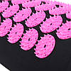 Коврик акупунктурный с валиком SportVida Аппликатор Кузнецова 66 x 40 см SV-HK0352 Black/Pink, фото 5