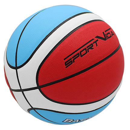 М'яч баскетбольний SportVida SV-WX0019 Size 7, фото 2
