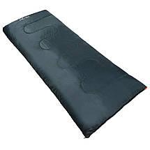 Спальний мішок (спальник) ковдра SportVida SV-CC0061 +2 ...+ 21°C R Navy Green/Orange, фото 2