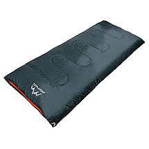 Спальный мешок (спальник) одеяло SportVida SV-CC0061 +2 ...+ 21°C R Navy Green/Orange, фото 3