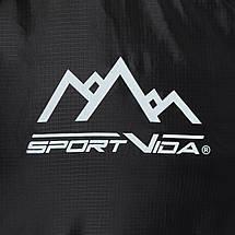 Спальный мешок (спальник) одеяло SportVida SV-CC0073 -3 ...+ 21°C L Black/Grey, фото 3