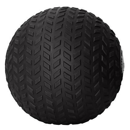 Слэмбол (медицинский мяч) для кроссфита SportVida Slam Ball 50 кг SV-HK0373 Black, фото 2