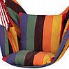 Крісло-гамак сидячий (бразильський) з подушками Springos 130 x 100 см HM047, фото 6