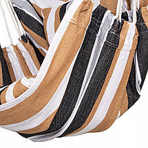 Кресло-гамак сидячий (бразильский) с подушками Springos 130 x 100 см HM048, фото 3
