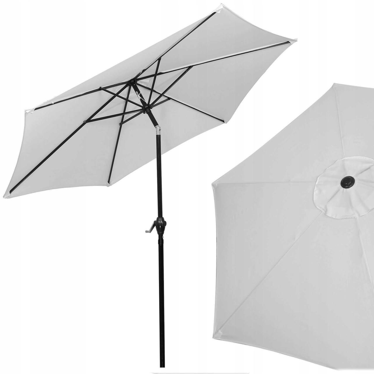 Зонт садовый стоячий (для террасы, пляжа) с наклоном Springos 250 см GU0012