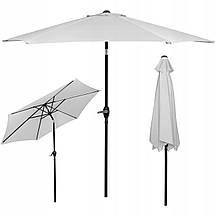Зонт садовый стоячий (для террасы, пляжа) с наклоном Springos 250 см GU0012, фото 2