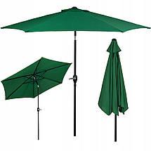 Зонт садовый стоячий (для террасы, пляжа) с наклоном Springos 250 см GU0014, фото 3