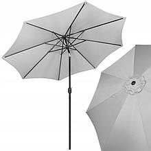 Зонт садовый стоячий (для террасы, пляжа) с наклоном Springos 290 см GU0015