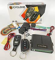 Сигнализация CYCLON X6 с выкидным ключем/без сирены