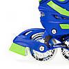 Роликовые коньки Nils Extreme NJ1812A Size 29-33 Blue, фото 5