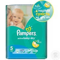 Подгузники Pampers Active baby р.5 11-18кг 42шт