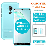 """Смартфон Oukitel Y1000 (""""6.08 екран ;ПАМ'ЯТІ 2/32; ємність акб 3600mAh) колір блакитний, фото 2"""