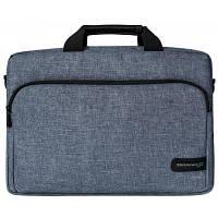 Сумка для ноутбука Grand-X 15.6'' SB-139 Grey (SB-139J) Чехол для для ультрабука 15.6