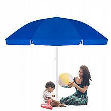 Пляжный (садовый) зонт усиленный с регулируемой высотой Springos 240 см BU0003