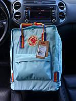 Рюкзак Kanken Classic turquoise rainbow 16 літрів портфель канкен класік, фото 1
