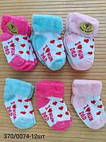 Носочки махровые для новорожденных. Турция. Опт