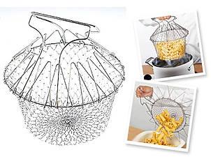 Друшлаг Stainless Steel Cooking Basket (Друшлаг), фото 2