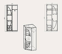 "Модульная система орбита шкаф ""Шкаф 17"", фото 2"