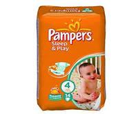 Подгузники Pampers Sleep&Play Maxi 4, 7-14 кг, 14 шт.