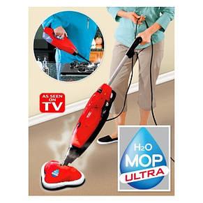 Паровая швабра H2O Steam Mop 3 в 1, фото 2
