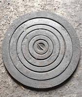 Набір чавунних конфорок для плити під казан Ø 500 мм (вага - 10 кг), фото 1