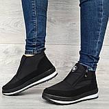 Женские ботинки зимние - кроссовки на меху (Бт-5ч-3), фото 4